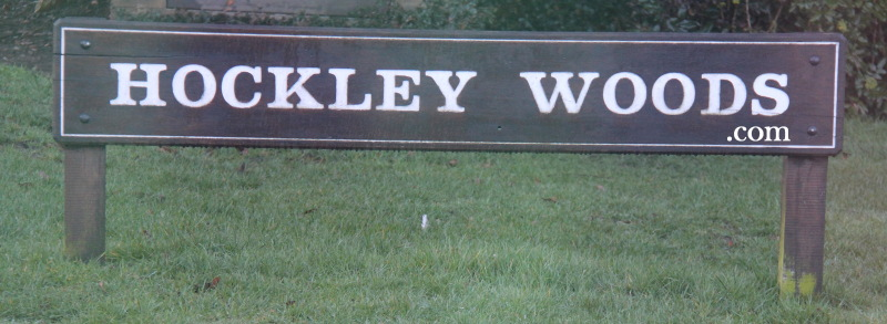 Hockley Woods entrance